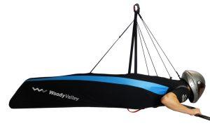 Lightweight hanggliding harness
